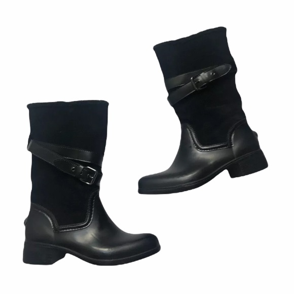 SOLD EUC Coach Zena women's winter/rain boots size 7B